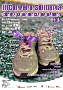 Cartel Carrera Solidaria 2014