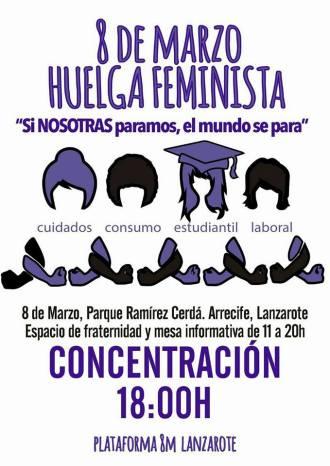 8 de marzo huelga